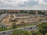 Wrocław: W miejscu dawnego dworca PKS pozostała wielka dziura (NOWE ZDJĘCIA)