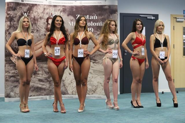 Półfinałowy casting Miss Polonia 2019 w Łodzi