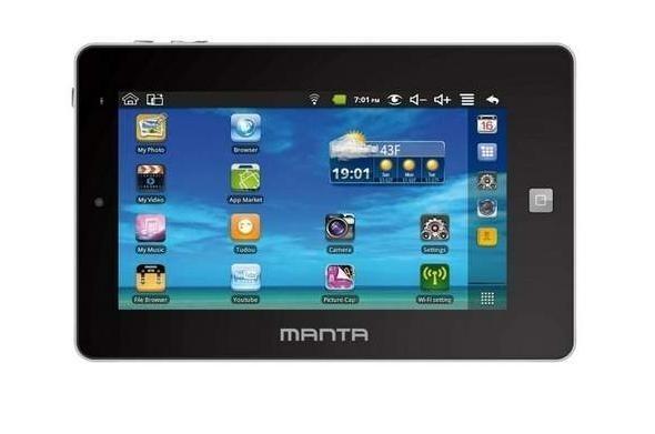 Manta EasyTab MID04Manta EasyTab MID04: Świetna cena i niezłe wyposażenie, ale dobre wrażenie psuje ekran.