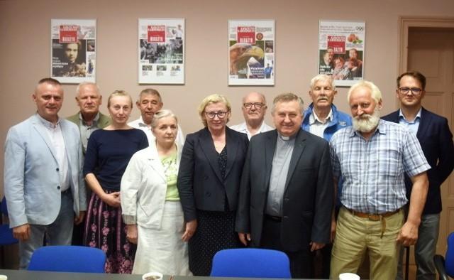 Spotkanie poświęcone powstaniu pomnika upamiętniającego ofiary ludobójstwa na Kresach Wschodnich II RP