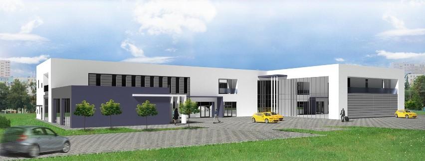 Nowe biura blisko centrumTak ma wyglądać biurowiec na LSM.