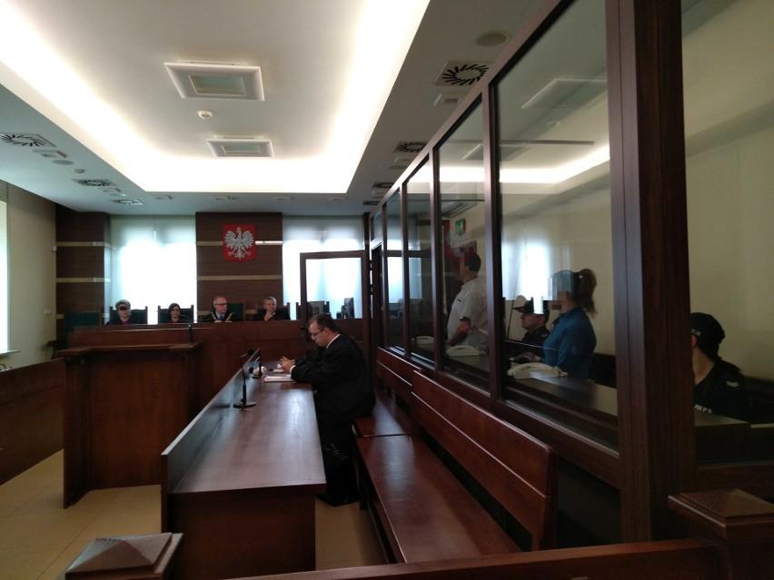 Oboje oskarżeni na sali rozpraw kieleckiego sądu
