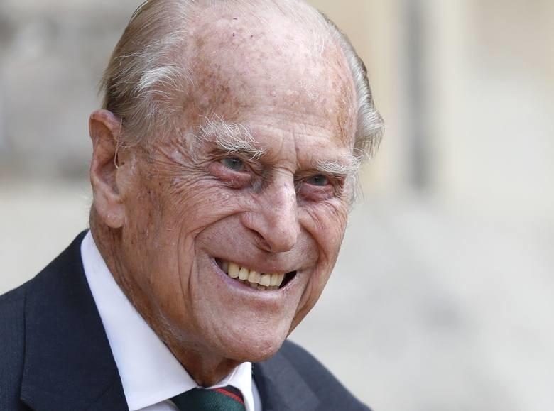 Wielka Brytania. Książę Filip, małżonek monarchini Elżbiety...