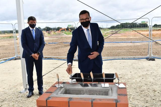 Nowy zakład produkcyjny PepsiCo na Dolnym Śląsku. Na wmurowaniu kamienia węgielnego obecny był premier Mateusz Morawiecki