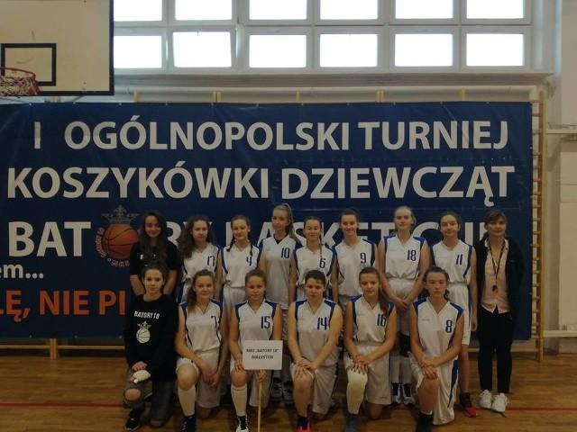 Dziewczęta Batorego zajęły szóste miejsce w turnieju w Białymstoku