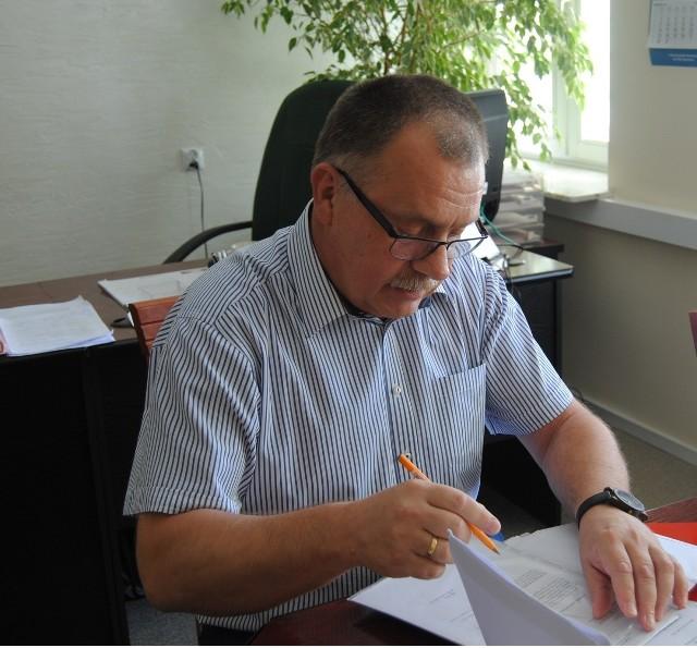 Sławomir Owczarek, dyrektor Biura do spraw Inwestycji Urzędu Gminy Włoszczowa.