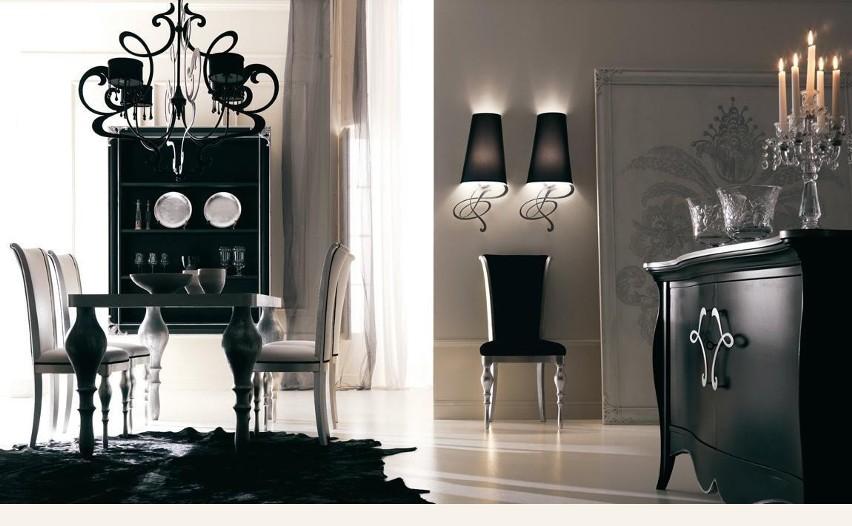 Styl glamour to luksus i błysk we wnętrzach.