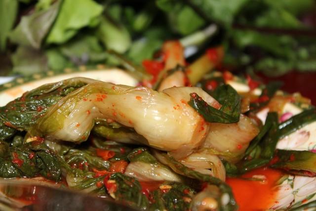 KimchiKimchi z kapusty pekińskiej to podstawa koreańskiej diety.