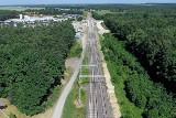 Budowa łącznicy kolejowej w Czarncy. Od czwartku będzie zamknięta droga gminna Łachów - Kuzki (ZDJĘCIA)