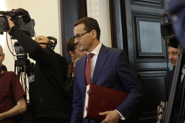 24.04.2019 warszawarada ministrow kancelaria prezesa rady ministrow premier kprm nz mateusz morawieckifot marek szawdyn/polska press