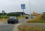 Kierowca suzuki za nic ma zakazy. Wyprzedzał na podwójnej linii ciągłej na obwodnicy Kisielina. Zdjęcia dostała również policja