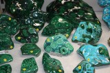 Drogocenne kamienie, minerały i oryginalna biżuteria na Wystawie i Giełdzie Minerałów, Skamieniałości i Wyrobów Jubilerskich [ZDJĘCIA]