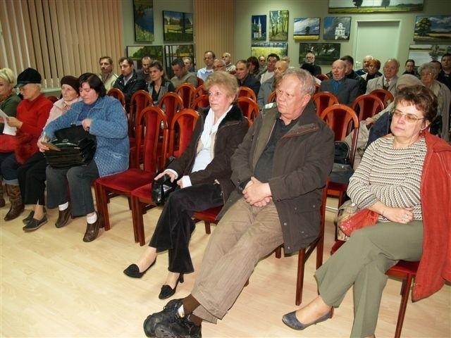 Uczestnicy spotkania poparli pomysł przebudowy ul. I AWP