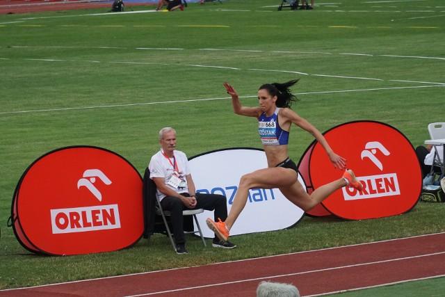 Adrianna Szóstak (AZS Poznań) zdobyła drugi tytuł mistrzyni Polski w trójskoku