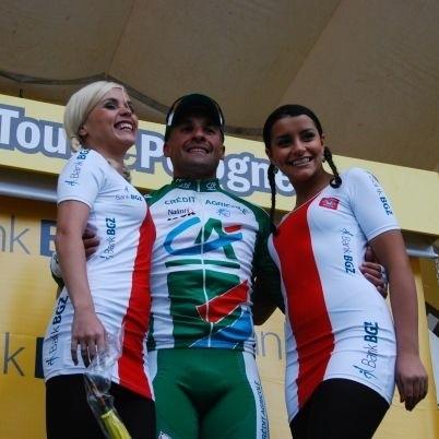 Włoch Angelo Furlan z grupy Credit Agricole wygrał wczoraj w Białymstoku III etap Tour de Pologne