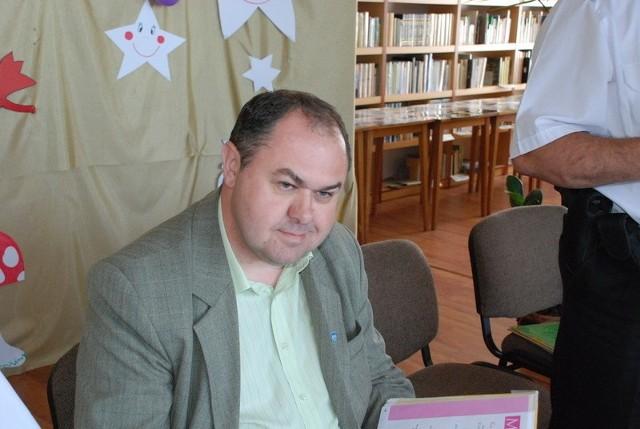 Dwa lata temu Sławomir Bykowski walczył o fotel burmistrza w czwartej swojej kadencji.
