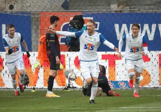 Lech Poznań wygrał w Szczecinie z Pogonią