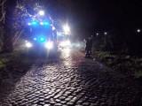 Gądków Wielki. Śmiertelny wypadek, dwie osoby spłonęły w aucie (wideo)