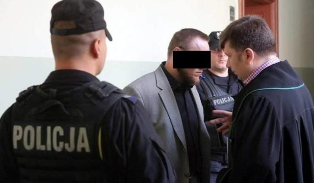 37-letni Maciej S. oskarżony w procesie w sprawie śmierci mieszkańca Golczewa