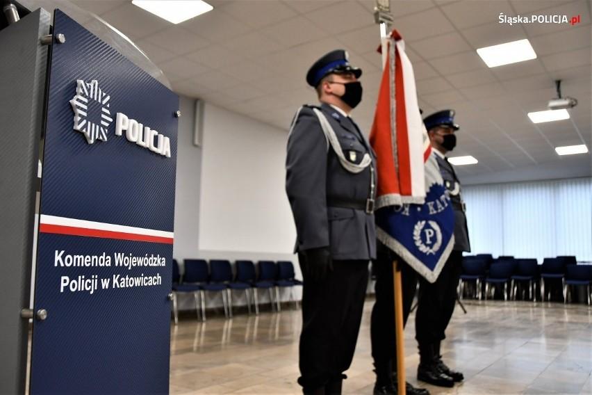Nowi funkcjonariusze zasilą szeregi śląskiej policji....