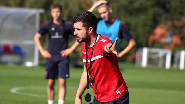 Piotr Łęczyński na jednym z treningów przed meczem z Deportivo