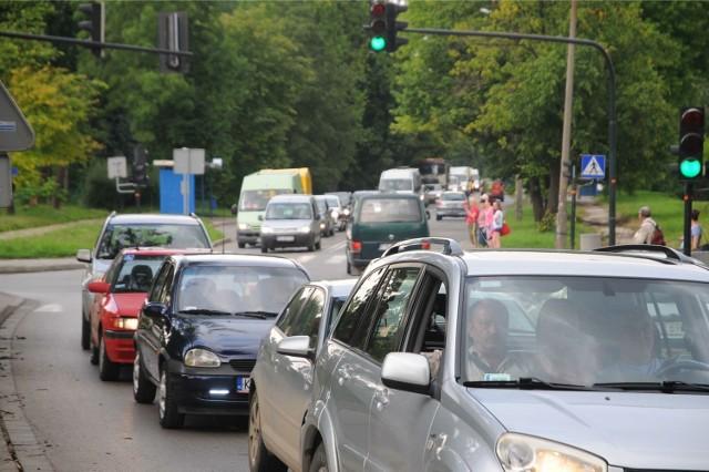 ul. Kocmyrzowska w Krakowie