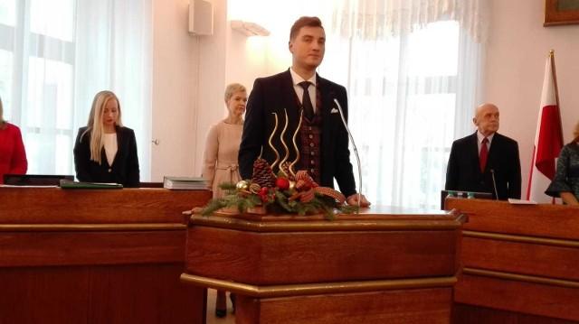 Marcin Bubicz od czwartku jest miejskim radnym, zastąpił Mariusza Banacha, który został z-cą prezydenta Lublina