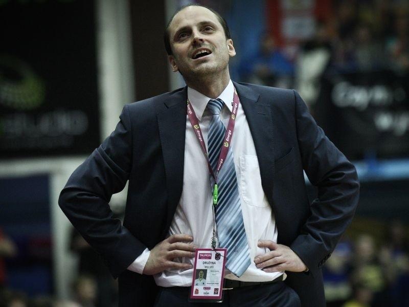 Marius Linartas pozostanie trenerem Energi Czarnych.