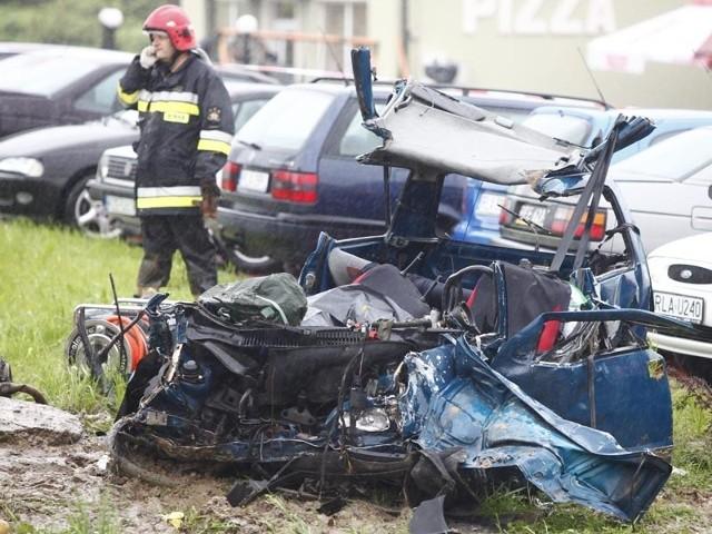 Tragiczny wypadek w KraczkowejTragiczny wypadek w Kraczkowej