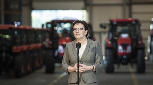 Premier Ewa Kopacz na Podlasiu