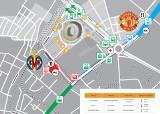 Finał Ligi Europy w Gdańsku - jak dojechać na stadion i jak z niego wrócić? Zmiany w organizacji komunikacji miejskiej 26.05.2021 roku