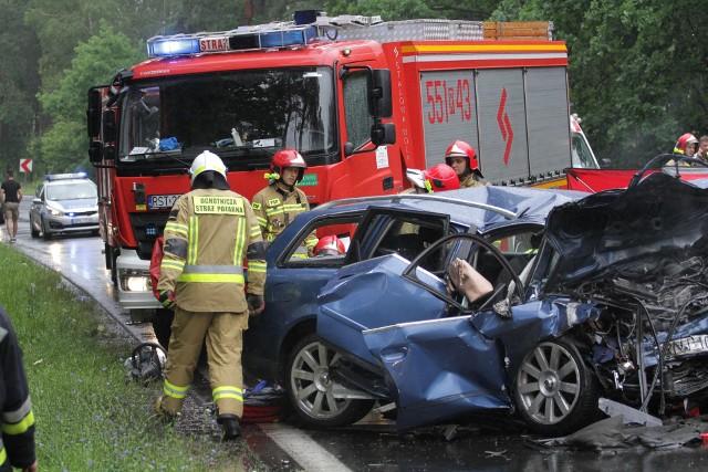 Tragedia rozegrała się 3 lipca po godzinie 14.15 na drodze wojewódzkiej 871 w granicach administracyjnych Stalowej Woli