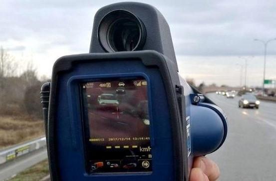 Policja ścigała punto przez dwa powiaty, kierowca sam przyszedł na komendę