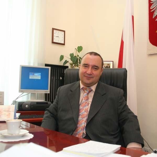 Przemysław Gosiewski wczoraj rano w gabinecie wicepremiera.