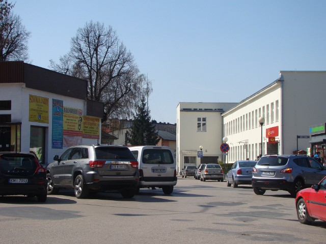 Plac Kościuszki w Miechowie