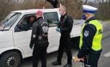 Motocykle są wszędzie - wspólna akcja ostrołęckich policjantów i motocyklistów 17.04.2021. Zdjęcia