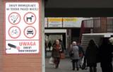 """Mieszkańcy skarżą się na ptaki przy pawilonie """"Maciej"""""""