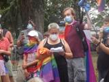 Marsz solidarności z osobami LGBT w Ustce [ZDJĘCIA]