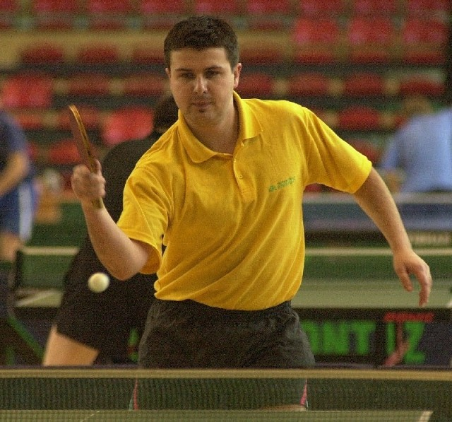 Sebastian Lubaś choć gra tylko w II lidze będzie reprezentował region w mistrzostwach Polski.