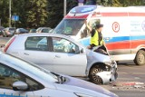 Tarnowo Podgórne: Wypadek na drodze ekspresowej S11. Kierowca w szpitalu