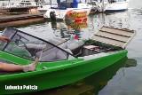 Lubniewice: na środku jeziora eksplodowała motorówka! Z pomocą ruszył policjant i ratownik wodny