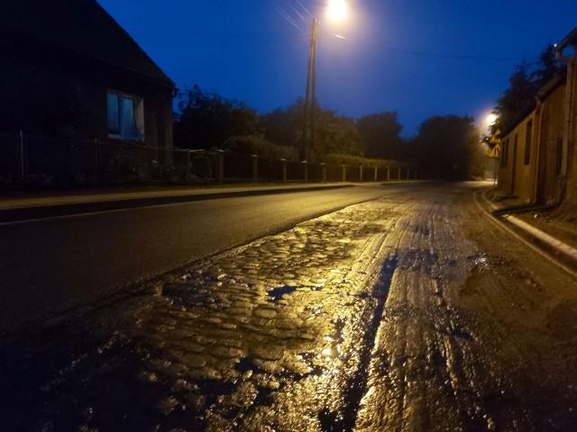 Droga powiatowa na trasie Sępólno-Lipka w Lutowie powinna być gotowa do końca lipca