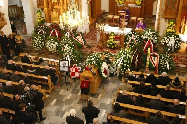 Pogrzeb Andrzeja Gmitruka na Cmentarzu Bródnowskim