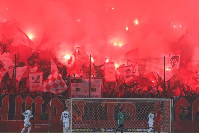 Tak było 30 października 2019 roku podczas meczu Widzew - Legia