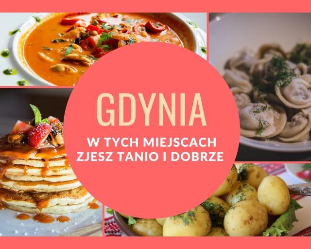 Niedrogie jedzenie w Gdyni. Poszukujesz miejsca, w którym smacznie i niedrogo wrzucisz coś na ząb? Bingo! Specjalnie dla Ciebie, stworzyliśmy listę 15 tanich miejsc - barów mlecznych, kebabów, pizzeri, naleśnikarni - w Gdyni. Nie wiesz, gdzie się udać? Sprawdź, gdzie pysznie zjesz za niewygórowaną cenę!