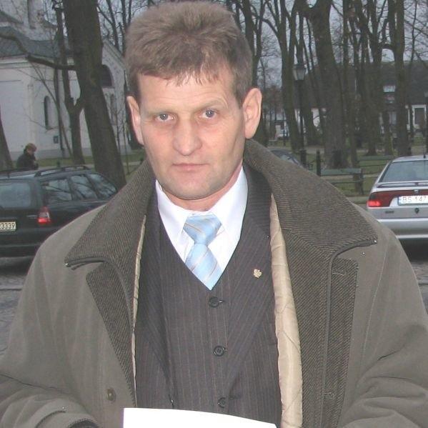 Józef Laskowski jest bardzo rozpoznawalnym politykiem. Wójtem Wiżajn został kandydując
