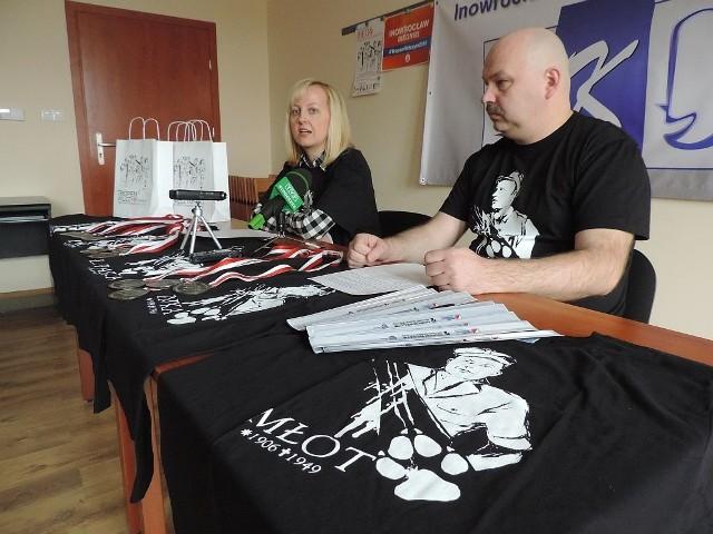 Do uczestnictwa w biegu zachęcają Magdalena Basińska i Maciej Basiński z Inowrocławskiego Klubu Dyskusyjnego