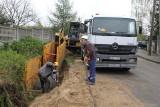 W ul. Północnej w Brzezinach powstaje kanalizacja sanitarna