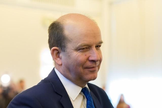 Konstanty Radziwiłł, minister zdrowia w Łodzi