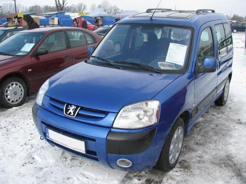 2. Peugeot partner...